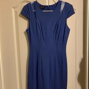 Blue mini BeBe dress